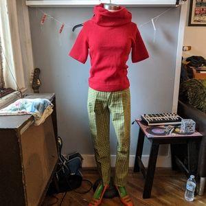 Vintage Gloria Knitwear cowl Sweater Rockabilly